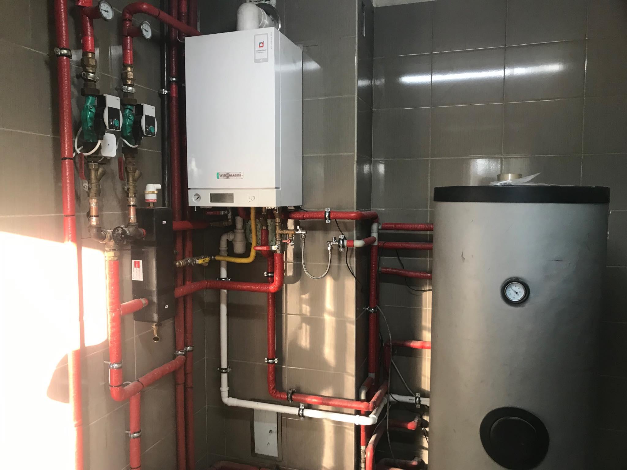 instalacja pieca gazowego