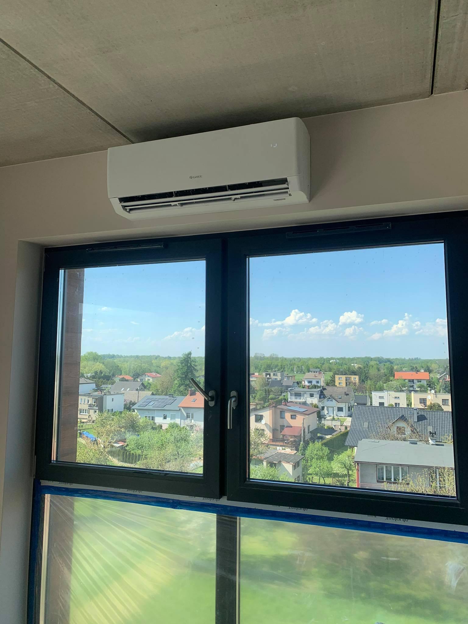 montaż klimatyzacji w bloku